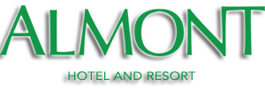 Almont Hotels and Resort - Preloader logo